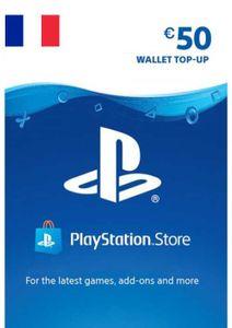 Carte PlayStation Network (PSN) - 50 EUR (France)