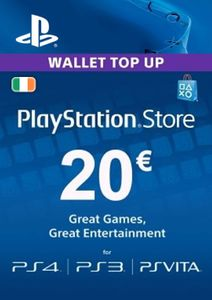 PlayStation Network (PSN) Card - 20 EUR (Ireland)