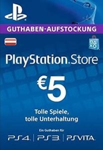 PlayStation Network (PSN) Card - 5 EUR (Germany)