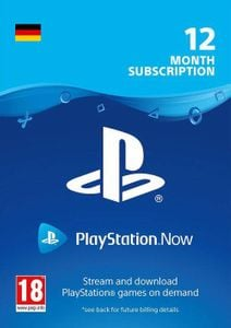 PlayStation Now 12 Month Subscription (Germany)