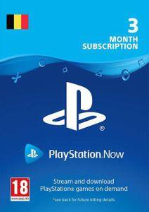 Playstation Now - 3 maanden abonnement (België)