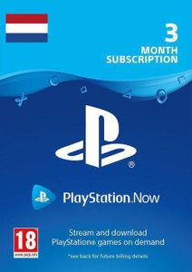 Playstation Now 3 Month Subscription (Netherlands)
