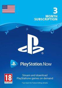 PlayStation Nu - 3 maanden abonnement (VS)