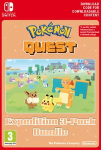 Pokemon Quest - Expedition 3-Pack Bundle Switch (EU)