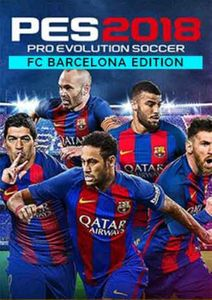Pro Evolution Soccer (PES) 2018 - Barcelona Edition PC