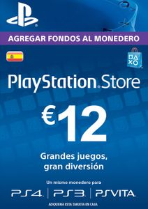 PlayStation Network (PSN) Card - 12 EUR (Spain)