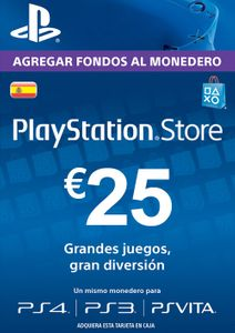 PlayStation Network (PSN) Card - 25 EUR (Spain)