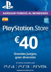 PlayStation Network (PSN) Card - 40 EUR (Spain)