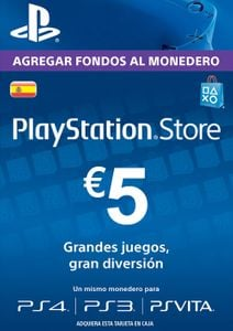 PlayStation Network (PSN) Card - 5 EUR (Spain)