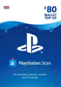 Playstation Network (PSN)-kaart - £80 (UK)