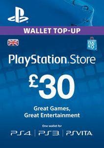 Playstation Network (PSN)-kaart - 30 GBP
