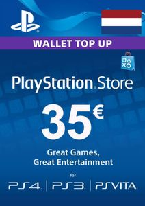 PlayStation Network (PSN) Card - 35 EUR (Netherlands)