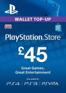 Playstation Network (PSN)-kaart - 45 GBP