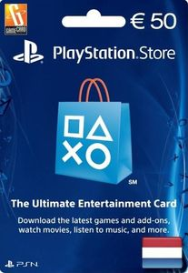 PlayStation Network (PSN) Card - 50 EUR (Netherlands)