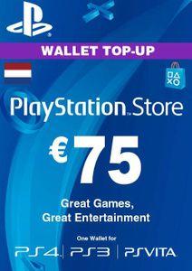PlayStation Network (PSN)-Karte - 75 EUR (Niederlande)