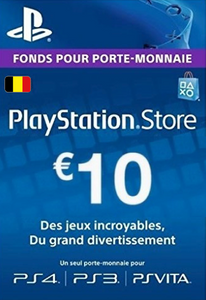 PlayStation Network (PSN) Card - 10 EUR (Belgium)