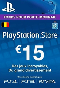 PlayStation Network (PSN) Card - 15 EUR (Belgium)