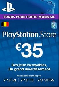 PlayStation Network (PSN)-Karte - 35 EUR (Belgien)