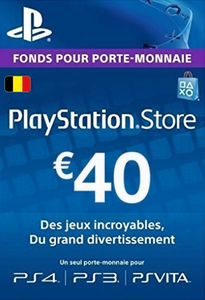 PlayStation Network (PSN) Card - 40 EUR (Belgium)