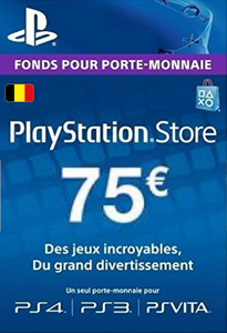 PlayStation Network (PSN) Card - 75 EUR (Belgium)