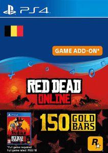 Red Dead Online - 150 Gold Bars PS4 (Belgium)