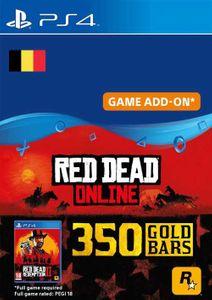 Red Dead Online - 350 Gold Bars PS4 (Belgium)