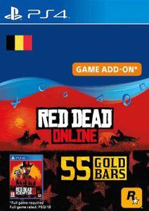 Red Dead Online - 55 Gold Bars PS4 (Belgium)