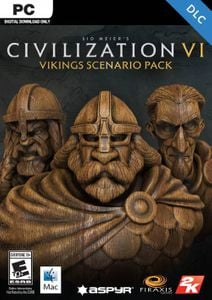 Sid Meier's Civilization VI: Vikings Scenario Pack PC (WW)