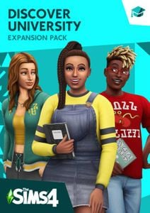 The Sims 4 - Discover University Expansion Pack PC