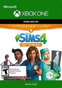 The Sims 4 Get to Work Xbox One (US)