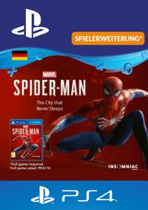 Marvels Spider-Man The City That Never Sleeps PS4 (Germany)