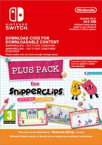 Snipperclips - Cut it out Together Plus Pack Switch (EU)