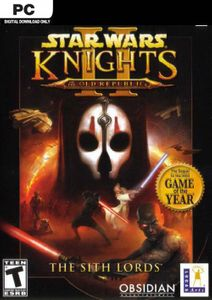Star Wars Knights of the Old Republic II - The Sith Lords PC