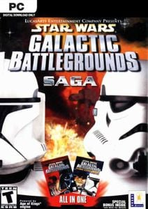 Star Wars Galactic Battlegrounds Saga PC