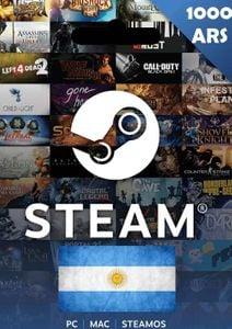 Steam Wallet Top - Up 1000 ARS (Argentina)