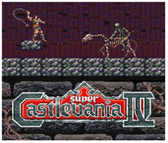Super Castlevania IV 4 3DS - Game Code (ENG)