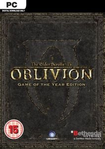 The Elder Scrolls IV 4: Oblivion - Game of the Year Edition PC