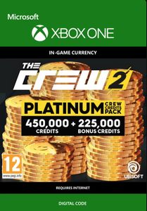 The Crew 2 Platinum Crew Credits Pack Xbox One