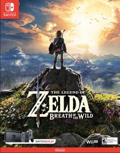 The Legend of Zelda Breath of the Wild Switch