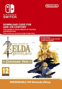 The Legend of Zelda Breath of the Wild Expansion Pass Switch (EU)