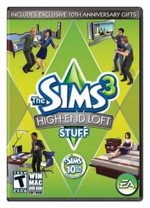 The Sims 3 High End Loft Stuff PC