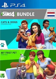 The Sims 4 Bundle - Cats and Dogs My First Pet Stuff PS4 (Netherlands)