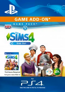 The Sims 4 - Dine Out Game Pack PS4