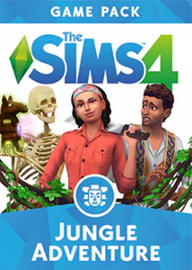The Sims 4 Jungle Adventure Game Pack PC
