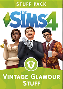 The Sims 4 - Vintage Glamour Stuff PC