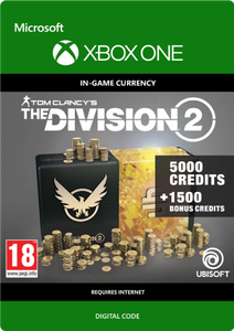 Tom Clancy's The Division 2 6500 Credits Xbox One