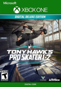Tony Hawk's Pro Skater 1 + 2 Deluxe Edition Xbox One (UK)