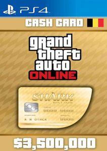Grand Theft Auto Online Whale Shark Cash Card PS4 (Belgium)