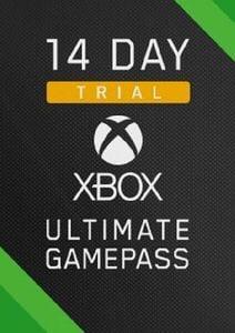 Prueba de 14 días de Xbox Game Pass Ultimate Xbox One / PC