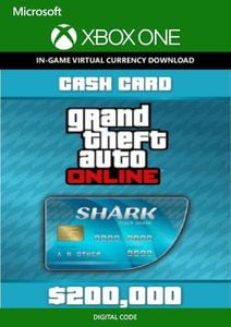 Grand Theft Auto V 5 - Tiger Shark Cash Card Xbox One